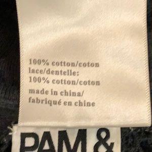 Pam & Gela Tops - PAM AND GELA SWEATSHIRT SEXY SOFT SIZE XS
